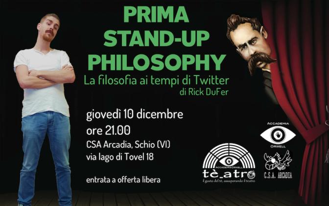 La filosofia ai tempi di Twitter – Stand-up Philosophy!