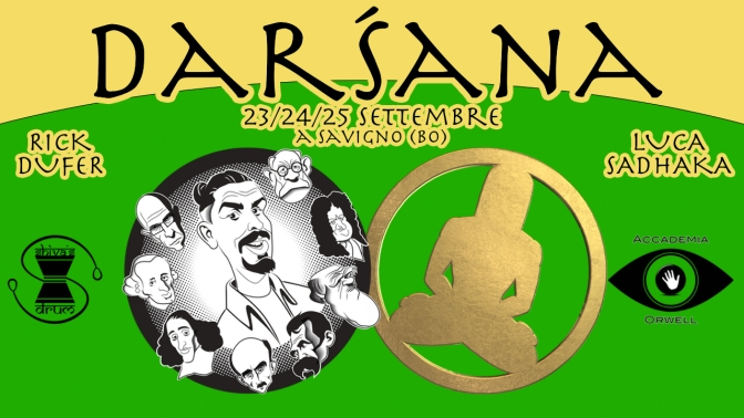 Darśana, tra Oriente e Occidente – 23/24/25 settembre