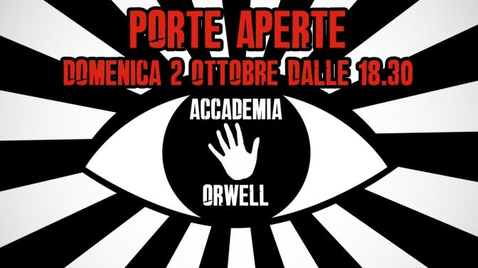 Porte Aperte in Accademia Orwell