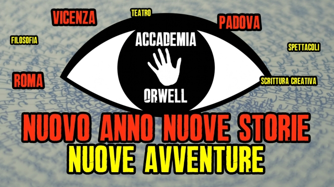 Accademia Orwell arriva in tutta Italia!!!