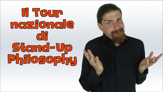 Il Tour nazionale della Stand-Up Philosophy