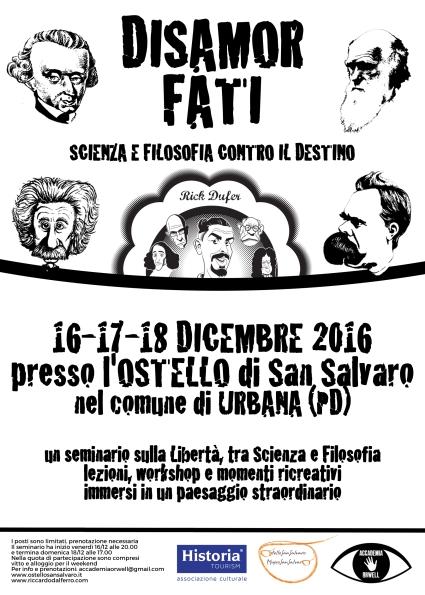 Il mio nuovo seminario filosofico a Padova