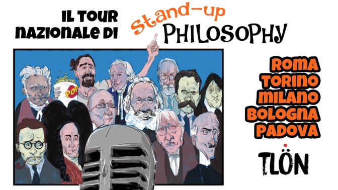 Inizia il tour di Stand-Up Philosophy!
