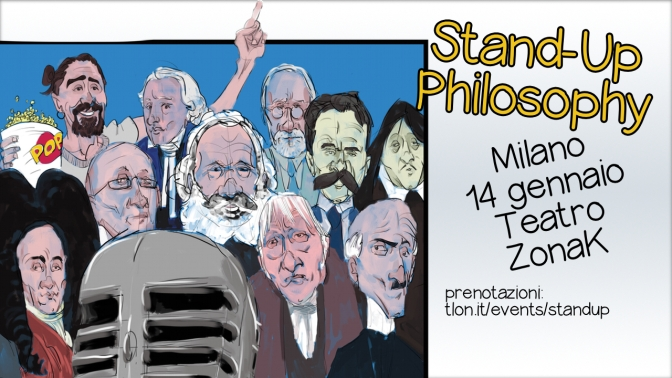 Stand-Up Philosophy a Milano!