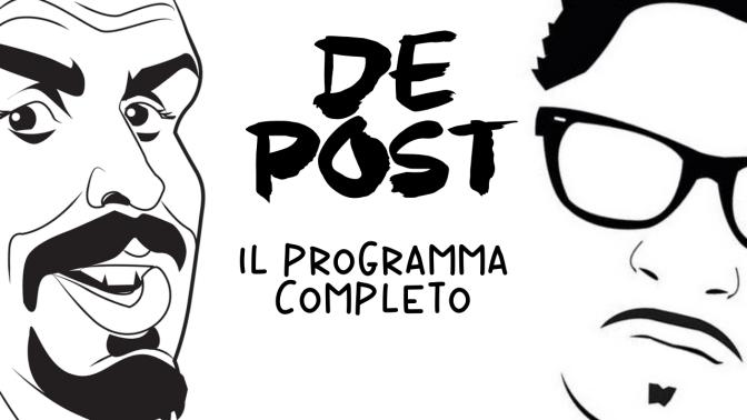 DE-POST: il programma completo