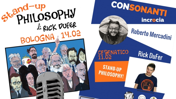 Stand-Up Philosophy: CESENATICO e BOLOGNA!