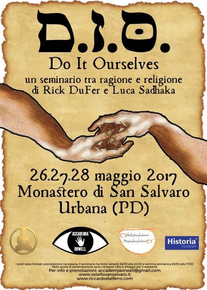 Il mio nuovo seminario con Luca Sadhaka