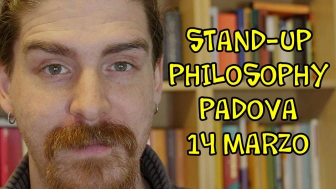 Satira e Filosofia a Padova, 14 marzo