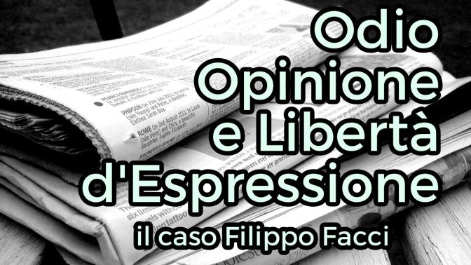 Il caso Filippo Facci