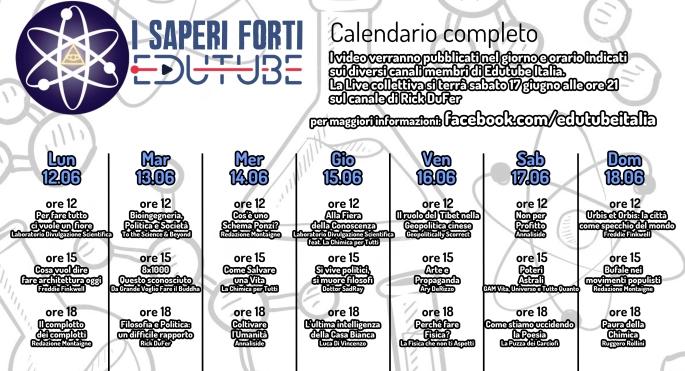 I Saperi Forti_calendario