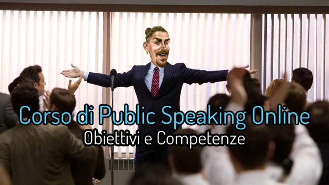 Corso di Public Speaking Online: obiettivi e competenze